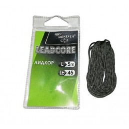 Fir leadcore 5 m, 45 lb